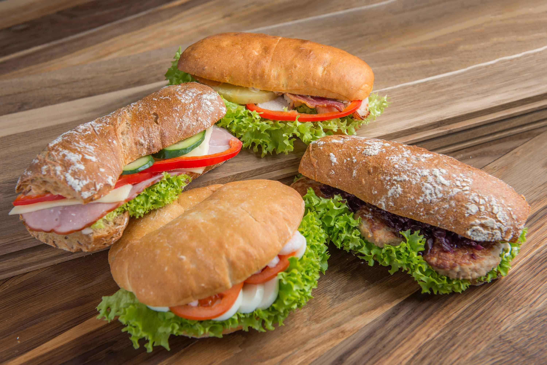 Friske sandwiches hver dag